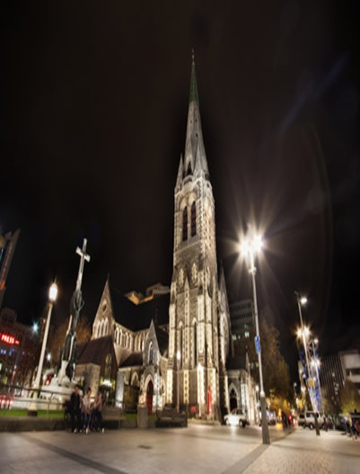 Christchurch-ChristChurch City NewZealand