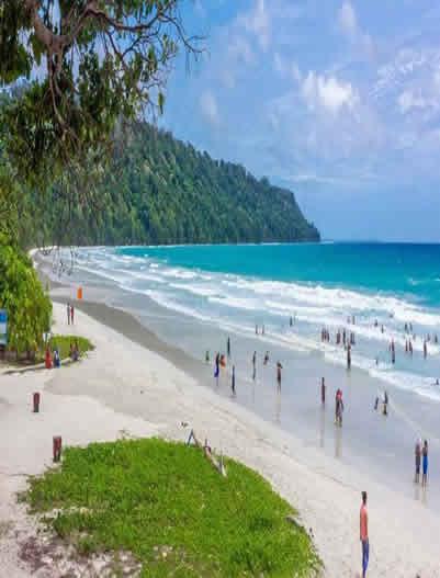 Radhanagar Beach-