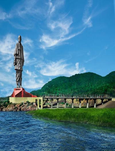 Kevadia-Statue of Unity
