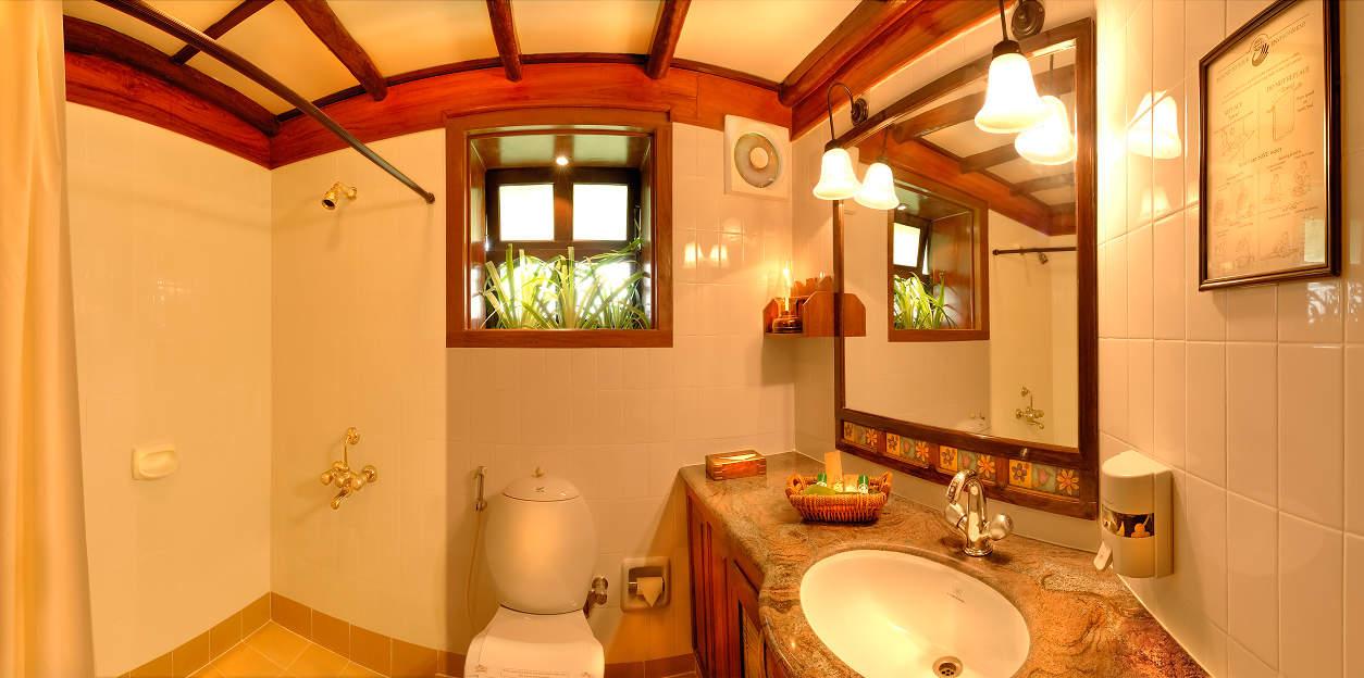 Coorg Hotel Room Bathroom