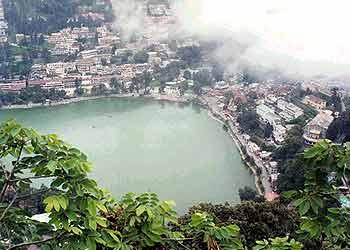 Nainital - Arial view